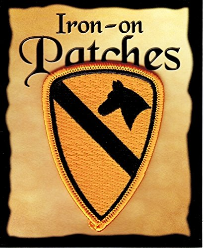The Flag of 1st Calvary Patch Parche