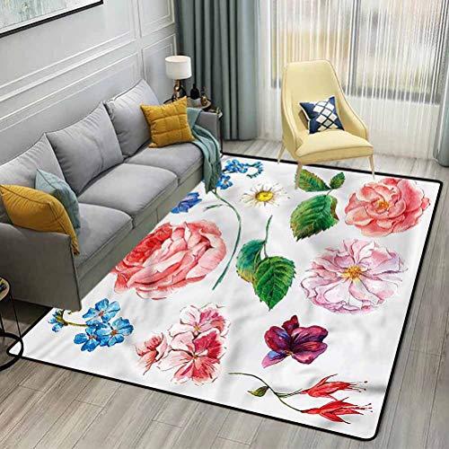 Wandaufkleber Diy Pflanze Wanddekoration Aufkleber Blumen Wandaufkleber Wohnzimmer Kleiderschrank Fenster Innenausstattung 136X42Cm