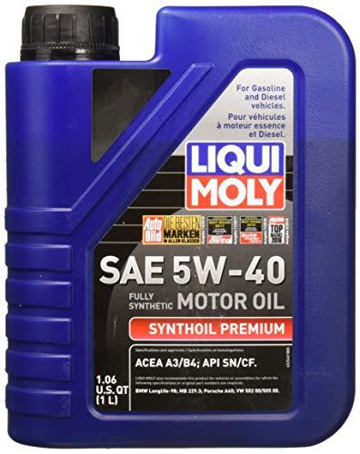 Liqui Moly 2040 Premium 5W-40 Synthetic Motor Oil - 1 Liter Bottle