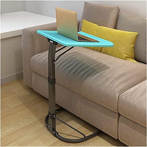 QIANMEI tavolino Tavolo Tavolo per Laptop di Sollevamento   43x43cm Tavolini Pieghevoli da Letto Pieghevoli Tavolo Piccoli spazi   per Interni ed Esterni (Color : Sky Blue)