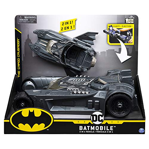 Bizak Batman DC Comics Batmovil 2 Vehículos en 1 para Figuras de 10 cm. (61927810)