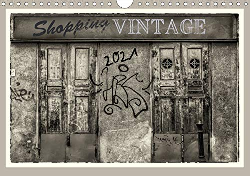 Shopping Vintage (Wandkalender 2021 DIN A4 quer)