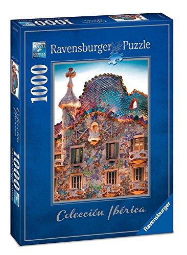 Ravensburger- Puzzle CASA Batlló, Barcelone 1000 pièces, 19631