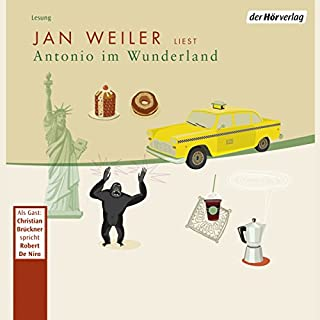 Antonio im Wunderland     Meine italienische Sippe 2              By:                                                                                                                                 Jan Weiler                               Narrated by:                                                                                                                                 Jan Weiler,                                                                                        Christian Brückner,                                                                                        Stella Vogel                      Length: 4 hrs and 39 mins     Not rated yet     Overall 0.0