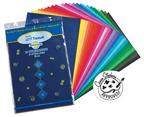 PACON 59530 Spectra(R) Assorted Color Tissue Pack, 12' x 18', 25 Colors, Pack Of 100 Sheets, Limited Edition