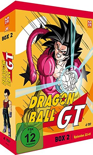 Dragonball GT - Box 2/Episode 22-41 (4 DVDs)