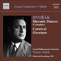 Dvorak: Slavonic Dances & Carnival Overture (2009-03-24)