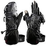 "Heat 3 Smart Gloves (Black) Small Size 8 (7.5""-8"