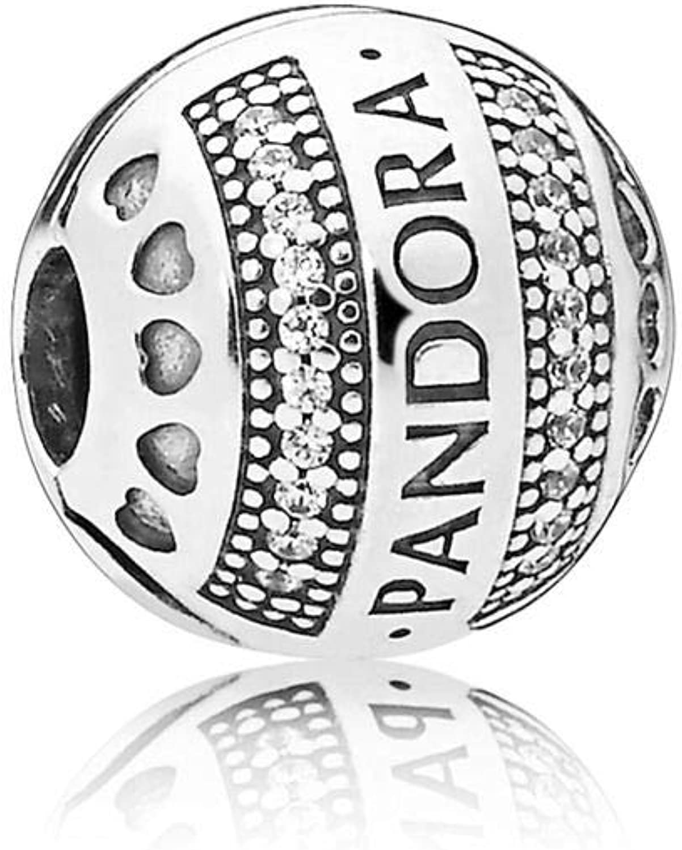 Charm clip Pandora 797433CZ woman silver zirconias