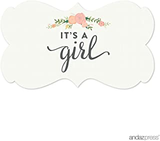 it's a girl stickers