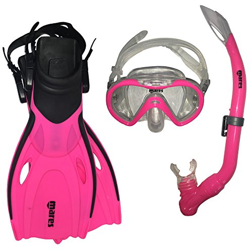 Mares Ocean Travel Kinderschnorchelset (pink, L/XL (32-37))