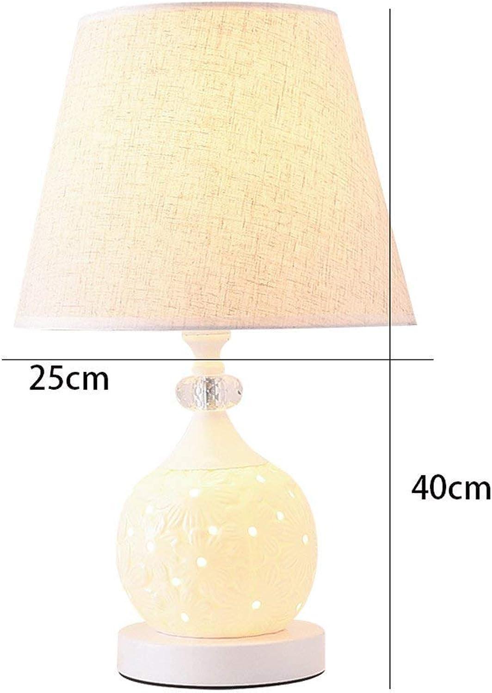 AOLI Tischlampe Moderne minimalistische Ceramican Ceramican Ceramican Tischlampe Wohnzimmer Studie, Schlafzimmer Dimming Nachttisch Lichter, H45Cm  W25Cm (Edition  A) B07J68F6L1 | Kompletter Spezifikationsbereich  1c8b8f