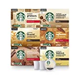 Starbucks Flavored K-Cup Coffee Pods — Variety Pack for Keurig Brewers — 6 boxes (60 pods total)