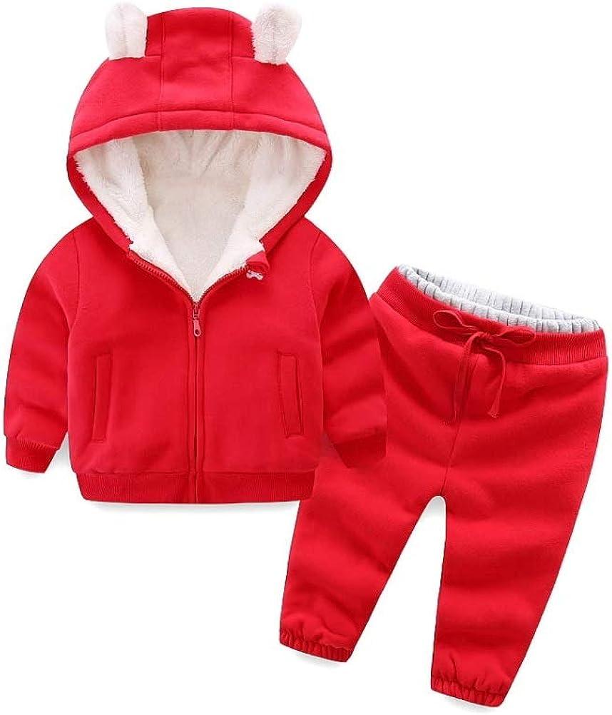 Stesti Kids Fleece Hoodie Jacket Winter for Ear Bear Cheap bargain Max 51% OFF Coats Girls