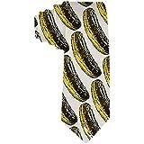 Men 'S Krawatte Sauce Gurke Polyester Seidenkrawatte