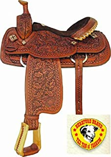 Textan Shiner Roper Saddle