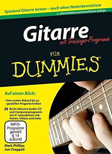 Gitarre für Dummies mit Trainings-Programm