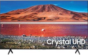 $446 » SAMSUNG UN55TU7000 55-Inch Crystal HDR Ultra HD 4K Smart LED TV - 3840 X 2160-120MR - Amazon Alexa - Google Assistant - Bixby - Wi-Fi - Bluetooth - Titan Gray (Renewed)