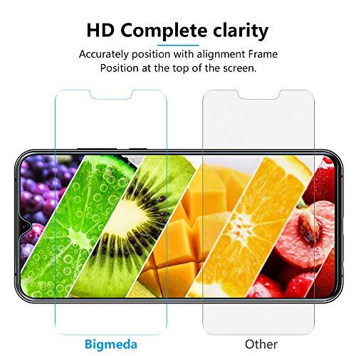 Bigmeda Schutzfolie für Huawei Mate 20, Blasenfrei, Anti-Kratzen, Anti-Öl, HD Klar Flexible Displayschutzfolie für Huawei Mate 20 Folie [3 Stück] - 5