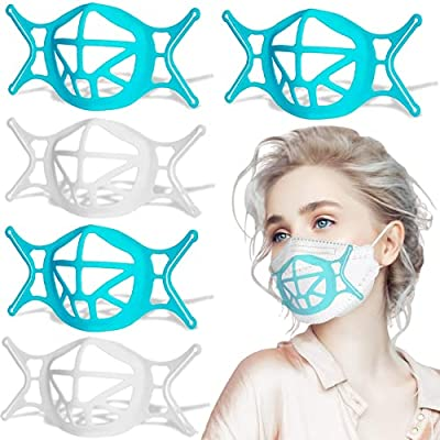 30PCS 3D Silicone Bracket for Mask, 2021 NEW Up...