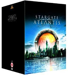 Stargate Atlantis - Seasons 1-5 - Complete [DVD] (B002ACP2QI) | Amazon price tracker / tracking, Amazon price history charts, Amazon price watches, Amazon price drop alerts
