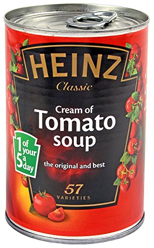 KH SECURITY 370178 Sterling Dosensafe Heinz Tomatensuppe, 120 g, 16 x 11 x 11 cm, rot