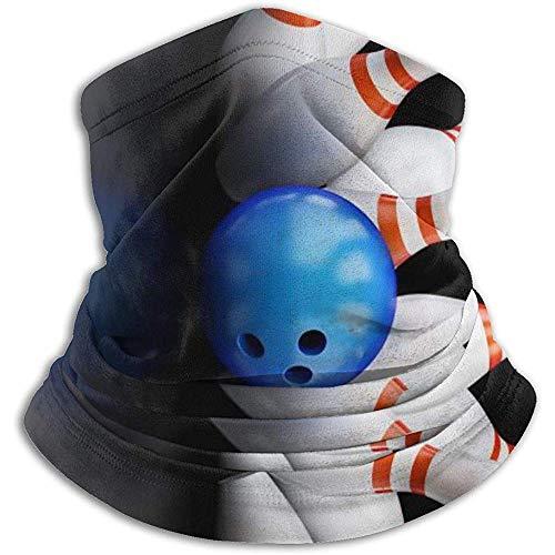 Hey Judey Bowlingkugel-Vlies-Ansatz-Gamaschen-Wärmer-Winter-Winddichte Ski-Gesichtsmaske Sturmhauben-Halbmaske