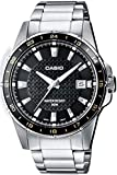 Casio Reloj Analógico para Hombre de Cuarzo con Correa en Acero Inoxidable MTP-1290D-1A2VEF