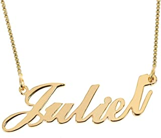 Best custom name pendant gold Reviews