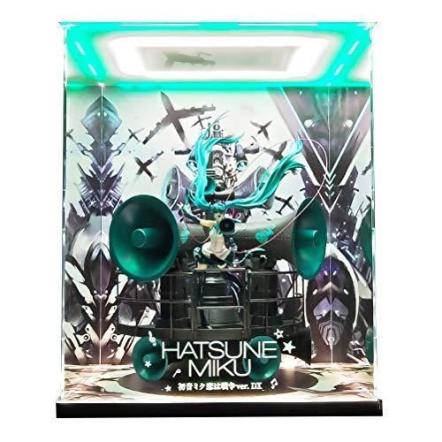 三次元照明 UV刻印フィギュアケース キャラクター・ボーカル・シリーズ01 初音ミク 初音ミク 恋は戦争ver. DX 再販分 1/8スケール フィギュア 専用