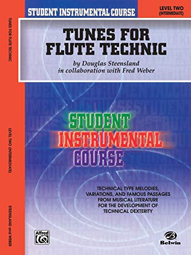 Student Instrumental Course Tunes for Flute Technic: Level II
