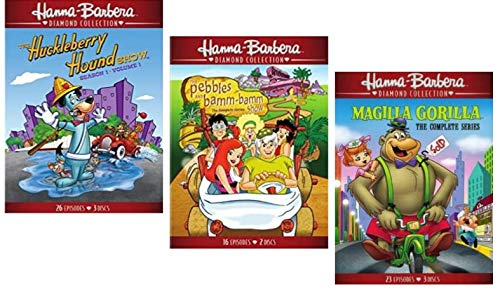 Hanna Barbera Diamond Deluxe Collection - Huckleberry Hound Season 1 V. / Magilla Gorilla: Complete Series / Pebbles and Bamm-Bamm Show The Complete Series