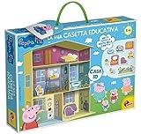 Lisciani Giochi – 77953 Juego para niños Peppa Pig, Casa Educativa