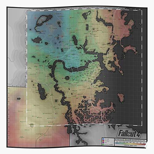 Credobeauty Vegas 1 New 2 Fallout 4 3 Bethesda Geschenk für Wohnkultur Wandkunst drucken Poster 11.7 x 16.5 inch