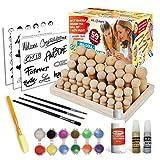 Peg Doll Kit for Kids | Kids Crafts Ages 4-12 | Craft Kits Art Set | Supplies for Wooden Peg Doll Set | Arts and Crafts for Girls and Boys| Girls Crafts | DIY Kids Crafts Age 4 5 6 7 8 9 10