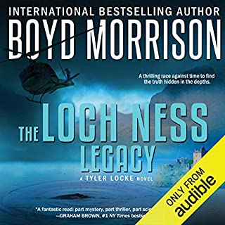 Loch Ness Legacy audiobook cover art