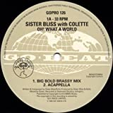 Oh What A World - Sister Bliss 2X12'