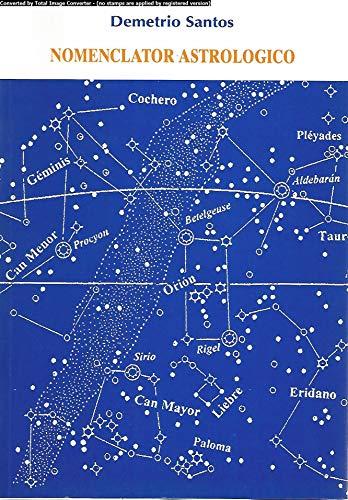 nomenclator astrologico