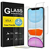 UTLK Screen Protector for iPhone 11, [2 Front+2 Back ]...