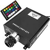 Cablematic–Fonte di luce led per fibra ottica illuminatore 1x 45W RGB 36mm RF