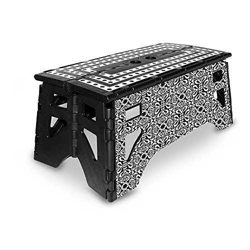 eXpace 13 Inch Plastic Folding Step Stool