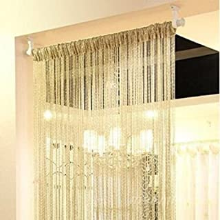 Home Decor Sequin Curtain for Doorway,Door String Curtains, 39×79 inch..
