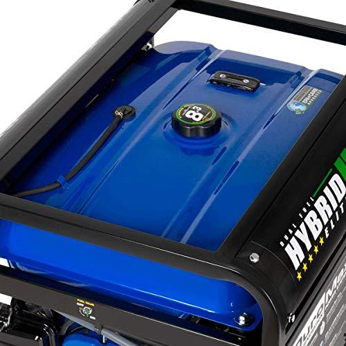 DuroMax XP10000EH 10000-Watt 18 HP Portable Dual Fuel Electric Start Generator