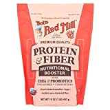 Bobs Red Mill Protein and Fiber Nutritional Booster - 16 oz - Case of 4 - Gluten Free - Dairy Free - Vegan