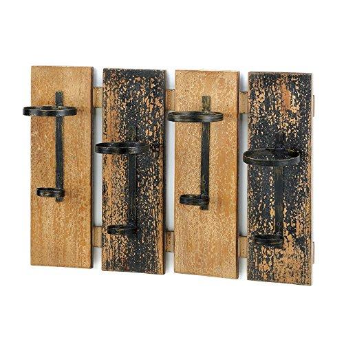 VERDUGO GIFT Rustic Wine Wall Rack