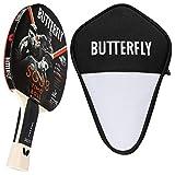 Butterfly Timo Boll SG33 - Juego de raquetas de ping pong y funda Cell Case