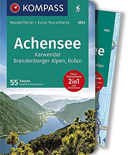 KOMPASS Wanderführer Achensee, Karwendel, Brandenberger Alpen, Rofan: Wanderführer mit Extra-Tourenkarte 1:35.000, 55 Touren, GPX-Daten zum Download