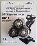 newSPeak Cabezal de afeitado RQ11 alternativa con 3 cabezales de afeitado (se ajusta) para las afeitadoras Senso Touch 2D, Serie RQ11xx