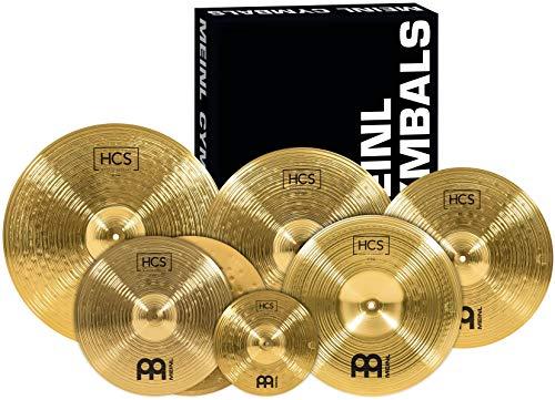Meinl Cymbals HCS-SCS Beckenset HCS/HCS10S/HCS14HHCS16C/HCS16CH/HCS18C/HCS20R