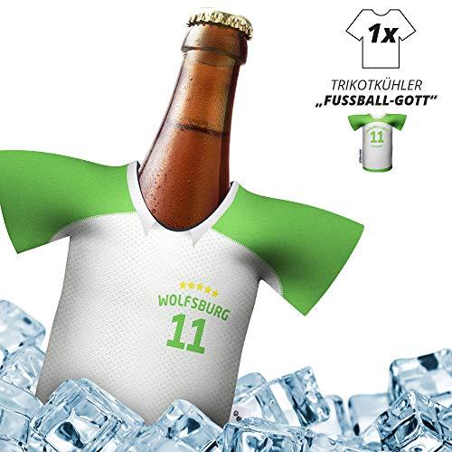 Herren Trikot 2019/20 kühler Home für VFL-Fans | FUßBALL-Gott | 1x Trikot | Fußball Fanartikel Jersey Bierkühler by Ligakakao